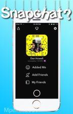 Snapchat?... || Phan (unedited) by miamipekas