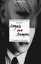 Angels vs Demons ↬ Nyongtory   by Jhonson_Aza