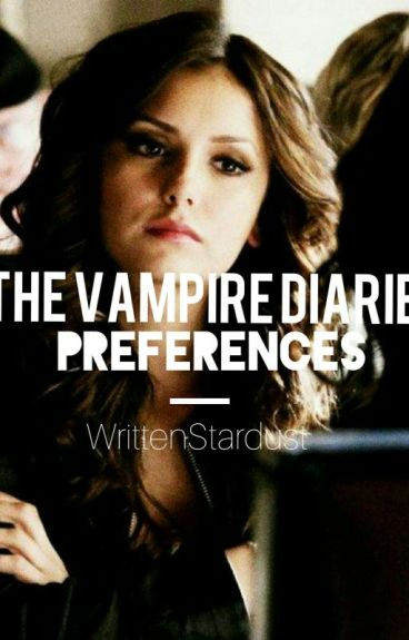TVD Dirty Preferences