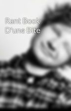 Rant Book D'une Bite by Romain_Pi