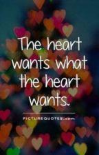 The Heart Wants What It Wants ! by AishwaryaNirgun