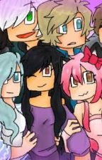 Aphmau highschool, YouTube secret by shell-sea