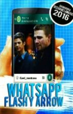 WhatsApp The Flash Y Arrow #DcHeroesAwards by gael_medrano