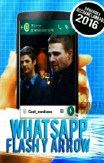 WhatsApp The Flash Y Arrow #DcHeroesAwards