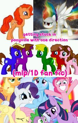 My little pony stuck on stories book