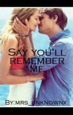 Say you'll remember me ~ Spencer Reid by Noel_10