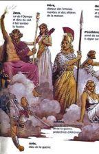 Dieux grecs by vezpas