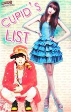 Cupid's List by magsyatika