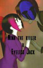 Nina The Killer X Eyeless Jack by GuillermoGallegos