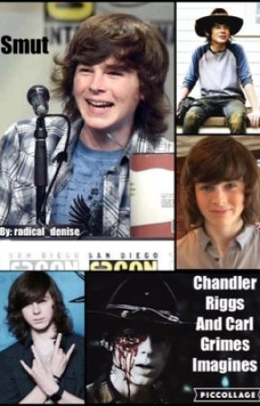 Chandler Riggs And Carl Grimes Imagines 8 Carl Poppa Riggs