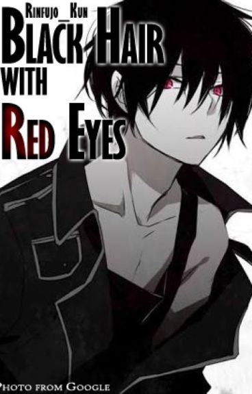 Black Hair With Red Eyes