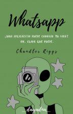 WhatsApp - Chandler Riggs  by _dayadna_