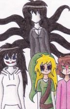 Male Reader x All Fem Creepypasta by WolfBlood420