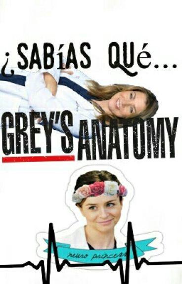 ¿No Sabia Que? Grey's Anatomy