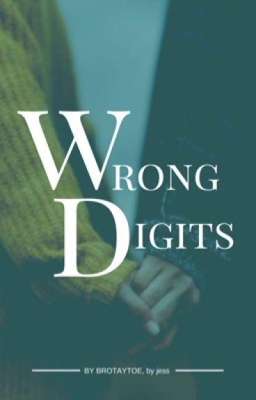 wrong digits