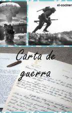 Carta de Guerra (Gay) by Irving_cockie_