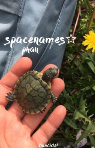 spacenames- phan chat room AU♡
