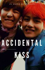 accidental kiss    ➼v-hope. by ElBaileDeKikwang