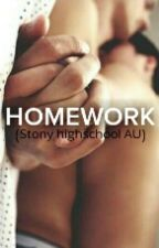 Homework (Stony highschool AU) by Shut-Up-Stark