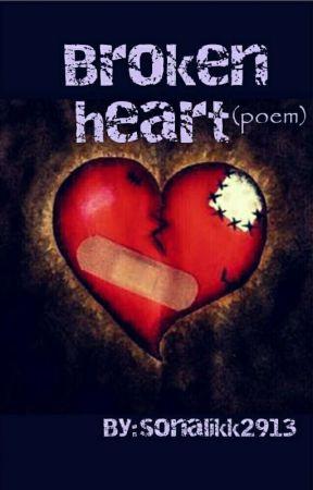 Broken Heart Poem Broken Heart Wattpad