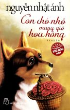 Con chó nhỏ mang giỏ hoa hồng by ruarongruoi