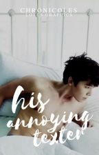 His Annoying Texter | SJ Fanfiction [Under Revision] by chronicoles