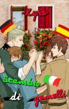 Scambio di gemelli~Spamano&Gerita by -Kyre-