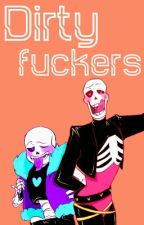 Dirty fuckers || One-shot lemon || UL! Papyrus x reader x UL! Sans by Korine-chan