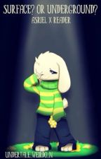 Surface? Or Underground?   Asriel x Reader   Undertale by Undertale_Weirdo_N