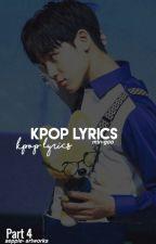 KPOP Lyrics. (Part 4) by min-goo