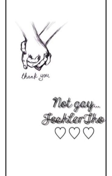 Not gay... Joshler