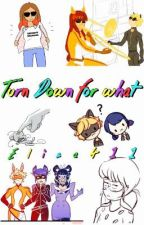 Turn Down for What/Miraculous Ladybug/Nominada Premios Ladybug. by -XElisaX-