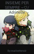 INSIEME PER SEMPRE ~♡/Adrinette by marinettenoir
