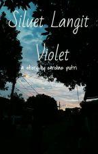 Siluet Langit Violet by urelilacsky
