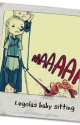 Legolas baby sitting by Amethyst_Fire