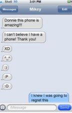 TMNT Text Messages by PurpleTurtles156