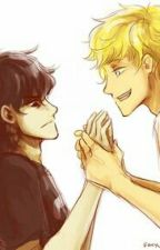 Willco Solangelo At High School by Little_Miss_Winter