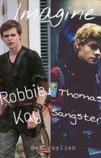 Imagines Robbie Kay Et Thomas Brodie-Sansgter *EN PAUSE* by marshmallow_anonym