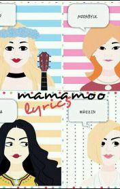 Mamamoo Lyrics - Solar - Autumn Letter - Wattpad