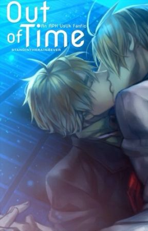 Out of Time // An APH UsUk / In Time / Fanfic by standintherain4ever