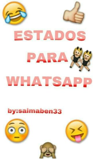 Frases Para Estado De Whatsapp Salmaben33 Wattpad