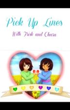 Chara x Frisk Pick up Lines by bunnyflowerpetal