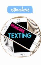 Demigods Texting by estherulz123