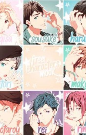 Free! Males X Seme or Uke Male Reader