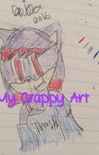 My Crappy Art  by Dwonderwriter0002