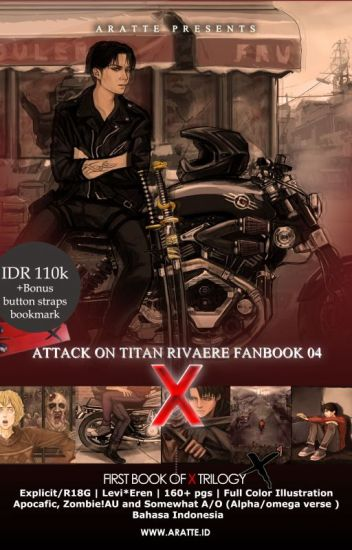 X (Trilogy 2014-2017) [RivaEre Fanbooks by Aratte] [SAMPLE]