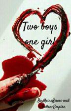 Two boys one girl (Yandere) by MeineKeime