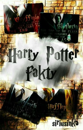 Harry Potter Fakty