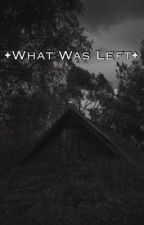•What Was Left• by bernoh