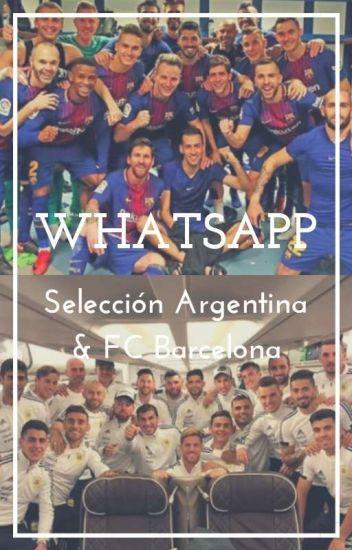 Whatsapp    Argentina-Barcelona ✔